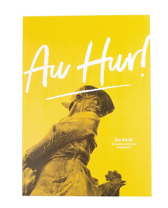 Poster Au Hur Öcher Wörter