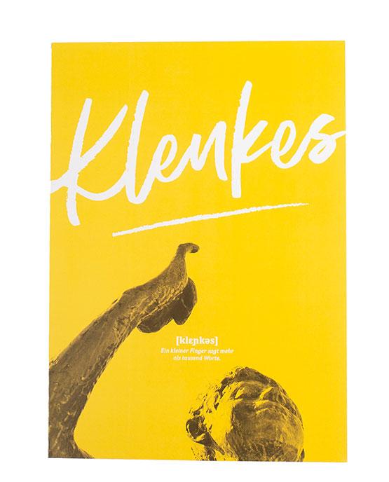 Poster Klenkes Öcher Wörter